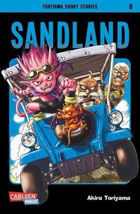 Toriyama Short Stories - Sandland