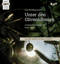 Unter den Olivenbäumen, 1 Audio-CD, MP3