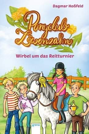 Ponyclub Löwenzahn - Wirbel um das Reitturnier