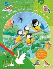 Die kleine Meise und ihre Freunde. Mein großes Tierstickerbuch