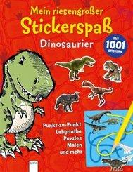 Mein riesengroßer Stickerspaß. Dinosaurier