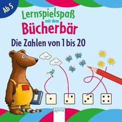 Lernspielspaß mit dem Bücherbär - Die Zahlen von 1 bis 20