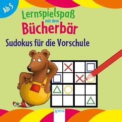 Lernspielspaß mit dem Bücherbär. Sudokus für die Vorschule