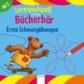 Lernspielspaß mit dem Bücherbär - Erste Schwungübungen