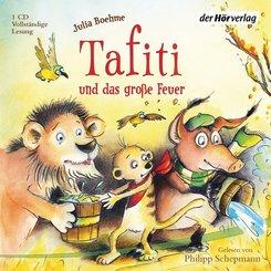 Tafiti und das große Feuer, 1 Audio-CD