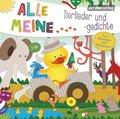 Alle meine Tierlieder und -gedichte, 1 Audio-CD
