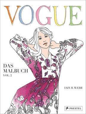 VOGUE - Das Malbuch - Bd.2
