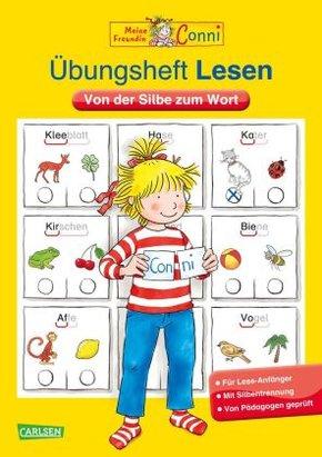 Conni Gelbe Reihe (Beschäftigungsbuch): Übungsheft Lesen