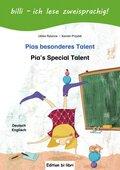 Pias besonderes Talent, Deutsch-Englisch - Pia's Special Talent