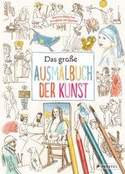 Das große Ausmalbuch der Kunst