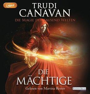 Die Magie der tausend Welten - Die Mächtige, 3 MP3-CDs