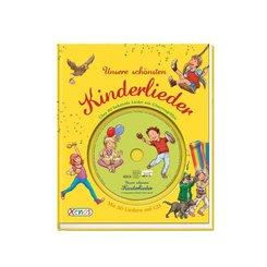 Unsere schönsten Kinderlieder, m. Audio-CD