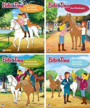 Bibi und Tina, 4 Hefte - Nr.25-28
