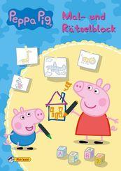 Peppa Pig: Mal- und Rätselblock