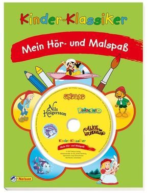 Kinder-Klassiker - Mein Hör-und Malspaß,  mit Audio-CD