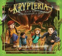 Krypteria - Jules Vernes geheimnisvolle Insel - Im Reich des Tyrannosaurus, 1 Audio-CD