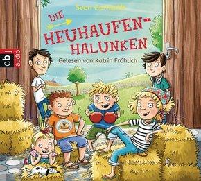 Die Heuhaufen-Halunken, 2 Audio-CDs