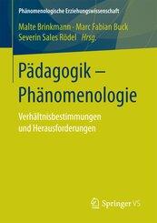 Pädagogik - Phänomenologie