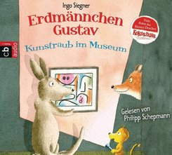 Erdmännchen Gustav - Kunstraub im Museum, 1 Audio-CD