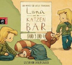 Der Katzenbär - Ein magischer Ausflug / Luna und der Katzenbär gehen in den Kindergarten, 1 Audio-CD