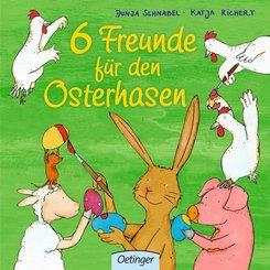 6 Freunde für den Osterhasen