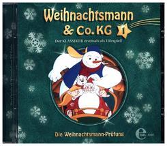 Weihnachtsmann & Co. KG - Die Wehnachtsmann-Prüfung, 1 Audio-CD - Tl.1