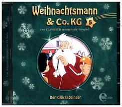 Weihnachtsmann & Co. KG - Der Glücksbringer, 1 Audio-CD