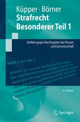 Strafrecht, Besonderer Teil: Strafrecht, Besonderer Teil 1; Bd.1