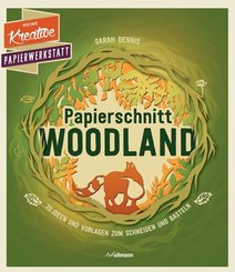 Papierschnitt: Woodland