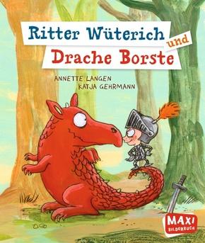 Ritter Wüterich und Drache Borste