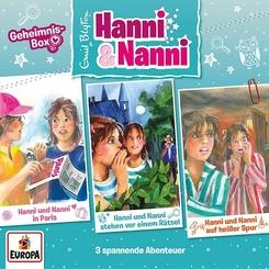 Hanni und Nanni Box, 3 Audio-CDs - Box.13