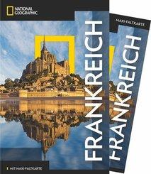 NATIONAL GEOGRAPHIC Traveler Reiseführer Frankreich mit Maxi-Faltkarte