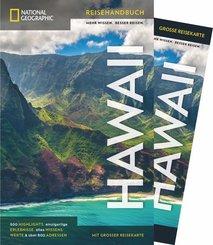 NATIONAL GEOGRAPHIC Traveler Reiseführer Hawaii mit Maxi-Faltkarte