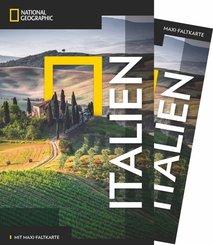 NATIONAL GEOGRAPHIC Traveler Reiseführer Italien mit Maxi-Faltkarte