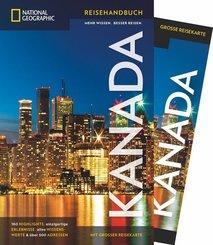 NATIONAL GEOGRAPHIC Traveler Reiseführer Kanada mit Maxi-Faltkarte