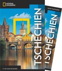 NATIONAL GEOGRAPHIC Traveler Reiseführer Tschechien mit Maxi-Faltkarte