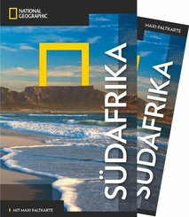 NATIONAL GEOGRAPHIC Traveler Reiseführer Südafrika mit Maxi-Faltkarte