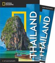 NATIONAL GEOGRAPHIC Traveler Reiseführer Thailand mit Maxi-Faltkarte