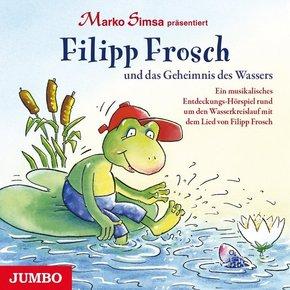Filipp Frosch und das Geheimnis des Wassers, 1 Audio-CD