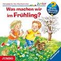 Was machen wir im Frühling?, Audio-CD - Wieso? Weshalb? Warum?, Junior