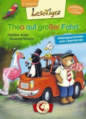 Theo auf großer Fahrt - Silbengeschichten zum Lesenlernen