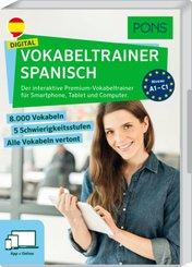 PONS Digital Vokabeltrainer Spanisch, Code in a Box