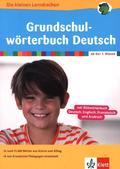 Grundschulwörterbuch Deutsch