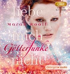 GötterFunke - Liebe mich nicht!, 2 MP3-CDs
