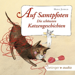 Auf Samtpfoten - Die schönsten Katzengeschichten, 1 Audio-CD