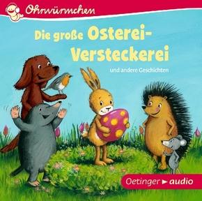 Die große Osterei-Versteckerei und andere Geschichten, 1 Audio-CD