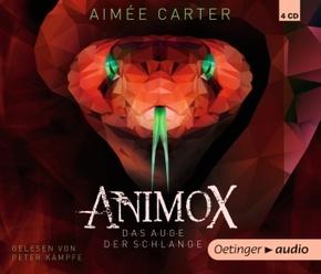Animox - Das Auge der Schlange, 4 Audio-CDs
