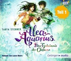 Alea Aquarius 3 Teil 1. Das Geheimnis der Ozeane, 5 Audio-CD - Tl.1