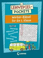 Lernspiel-Pockets - Wörter-Rätsel für die 1. Klasse