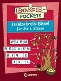 Lernspiel-Pockets - Rechtschreib-Rätsel für die 1. Klasse